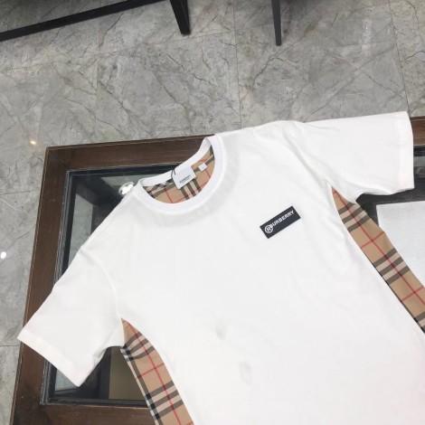 Tee-shirt BURBERRY Blanc, blanc cassé, écru