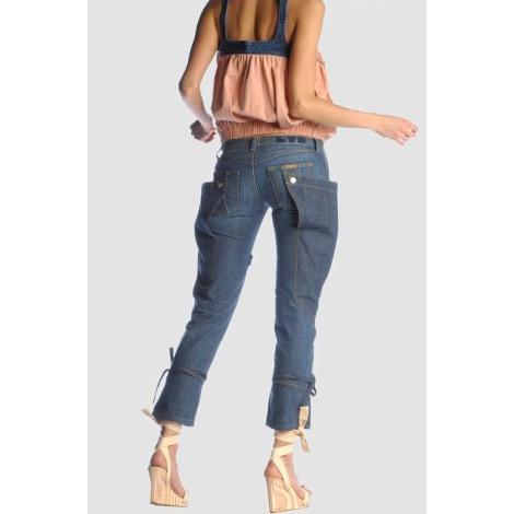 Jeans évasé, boot-cut FORNARINA Bleu, bleu marine, bleu turquoise