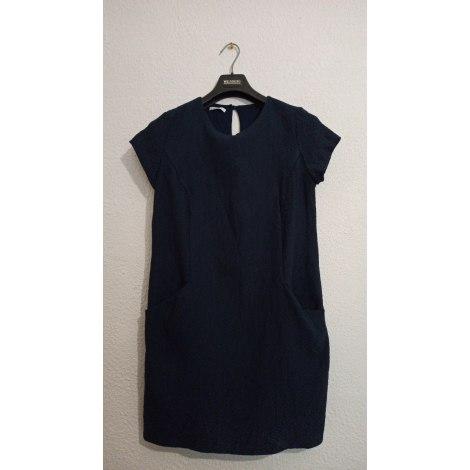 Robe mi-longue PROMOD Bleu, bleu marine, bleu turquoise