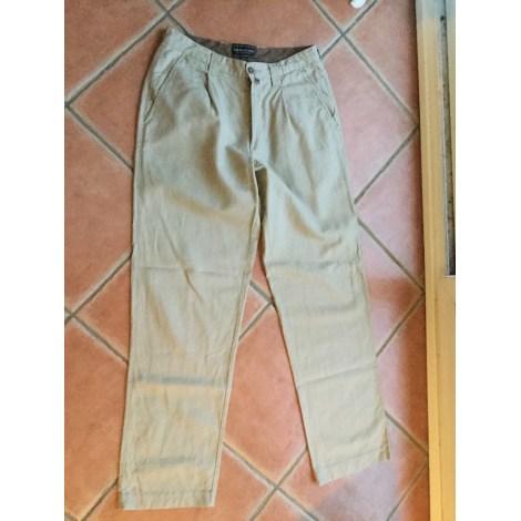 Pantalon large MARLBORO CLASSICS Beige, camel