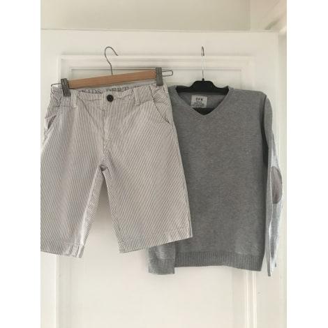 Anzug, Set für Kinder, kurz MONOPRIX Grau, anthrazit