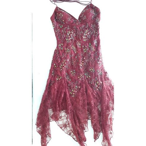 Robe courte BOUTIQUE INDEPENDANTE Rouge, bordeaux