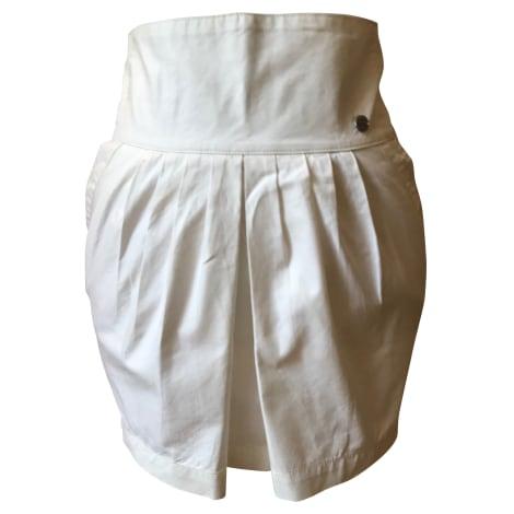 Jupe courte DIESEL Blanc, blanc cassé, écru