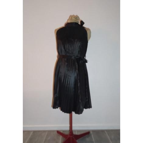 Robe mi-longue MARQUE INCONNUE Noir