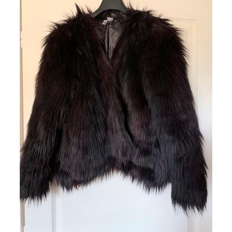 Manteau en fourrure H&M Marron