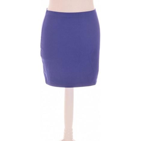 Jupe courte H&M Violet, mauve, lavande