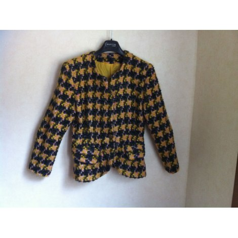 Blazer, veste tailleur SFOU Noir et jaune
