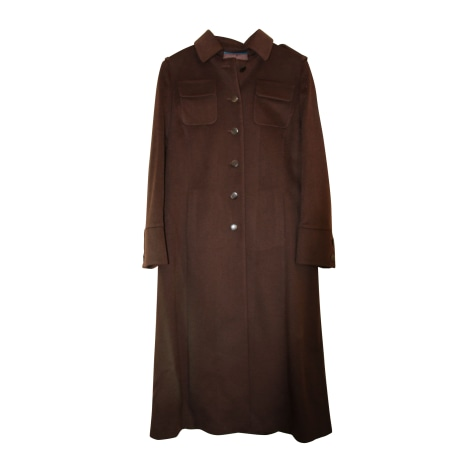Manteau ERIC BOMPARD Marron