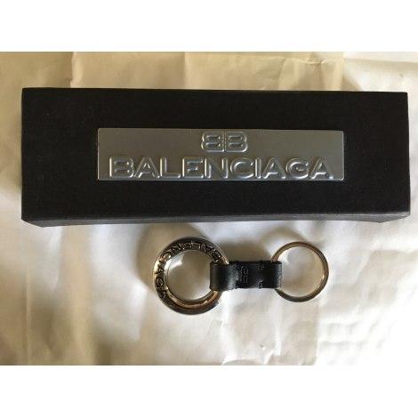 Schlüsseletui BALENCIAGA Silberfarben, stahlfarben