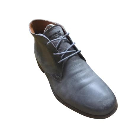 Chaussures à lacets SCHMOOVE Gris, anthracite