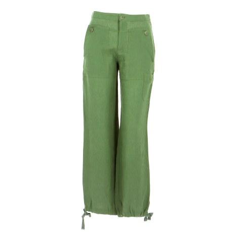 Pantalon droit COMPTOIR DES COTONNIERS Vert
