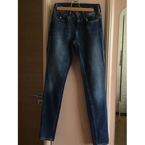 Pantalon droit SCOTCH & SODA Bleu, bleu marine, bleu turquoise
