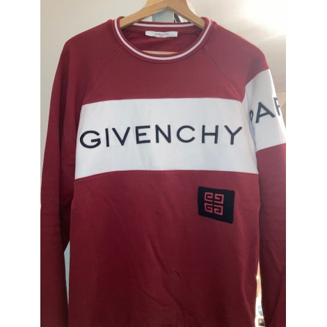 Sweat GIVENCHY Rouge, bordeaux