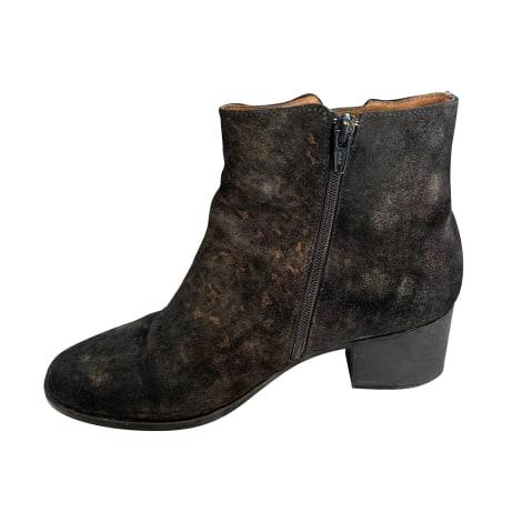 Bottines & low boots à talons SCHMOOVE Doré, bronze, cuivre