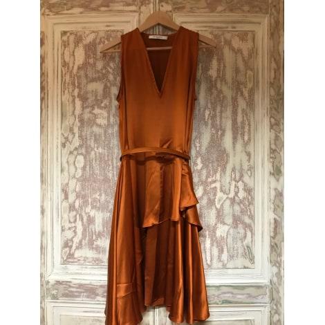 Robe mi-longue GIVENCHY Doré, bronze, cuivre