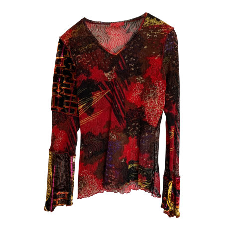 Top, tee-shirt CHACOK Rouge, bordeaux