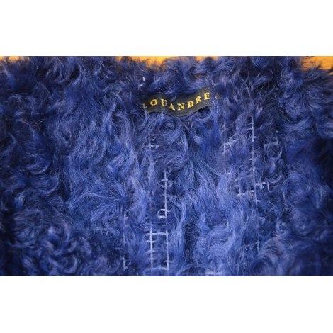 Manteau LOU ANDREA Bleu, bleu marine, bleu turquoise