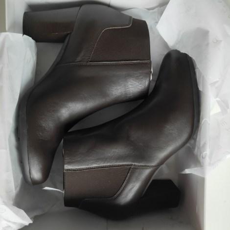 Bottines & low boots à talons GEOX Marron