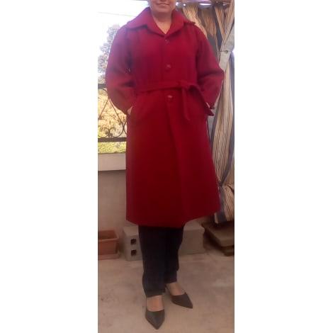 Manteau MARQUE INCONNUE Rouge, bordeaux