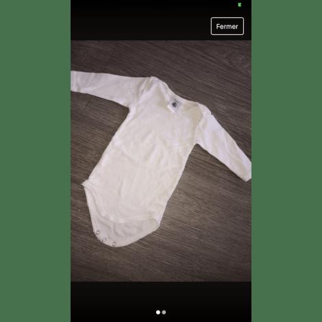 Body PETIT BATEAU Blanc, blanc cassé, écru