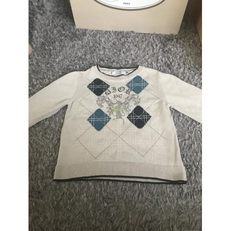 Sweater BABY DIOR White, off-white, ecru