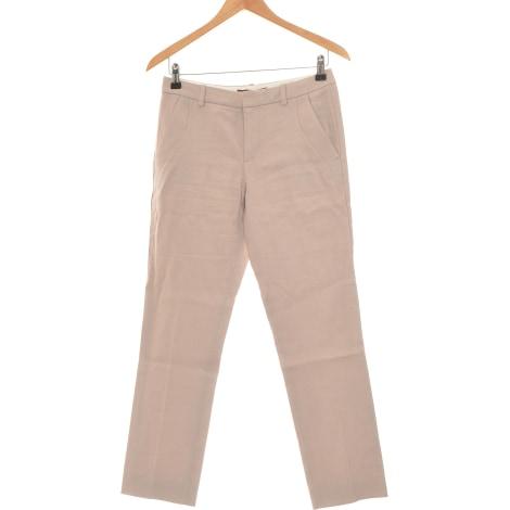 Pantalon droit COMPTOIR DES COTONNIERS Marron