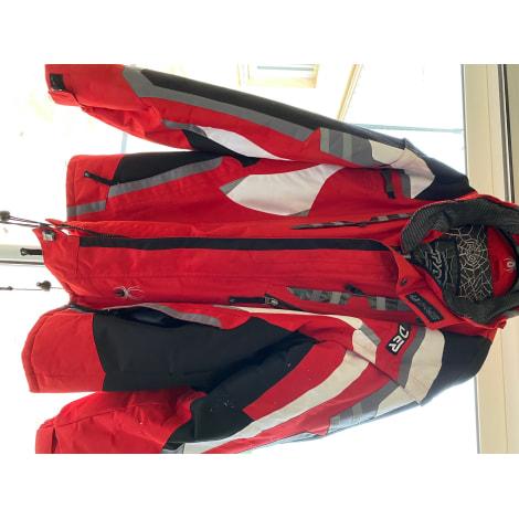 Blouson de ski SPYDER Rouge, bordeaux