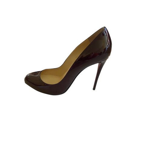 Pumps CHRISTIAN LOUBOUTIN Rot, bordeauxrot