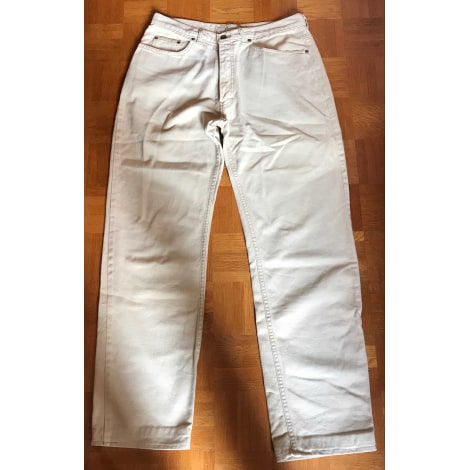 Pantalon droit LOOCK Beige, camel