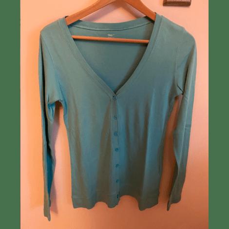 Gilet, cardigan GAP Bleu, bleu marine, bleu turquoise