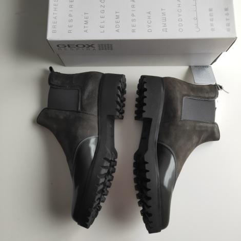 Bottines & low boots à talons GEOX Kaki