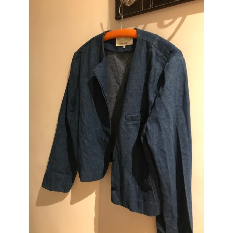 Veste en jean CYRILLUS Bleu, bleu marine, bleu turquoise