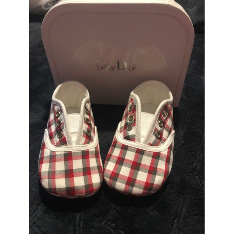 Slippers BABY DIOR Red, burgundy