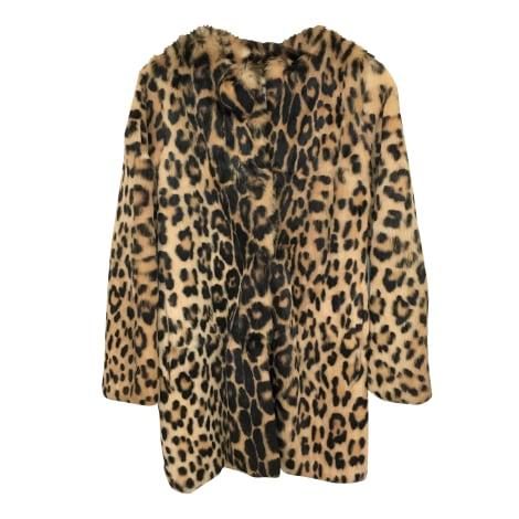 Manteau en fourrure BLUGIRL Imprimés animaliers