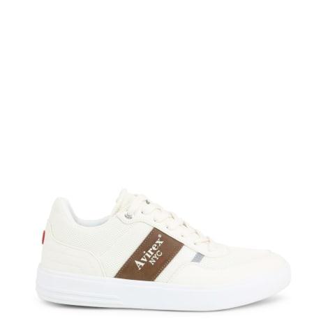 Baskets AVIREX Blanc, blanc cassé, écru