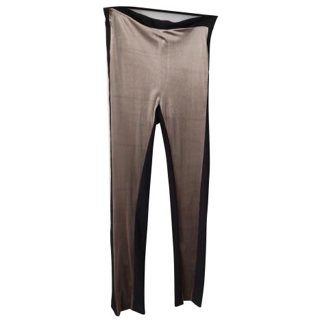 Pantalon slim, cigarette PINKO Noir