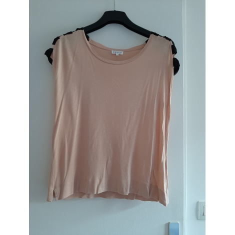 Top, tee-shirt CLAUDIE PIERLOT Rose, fuschia, vieux rose