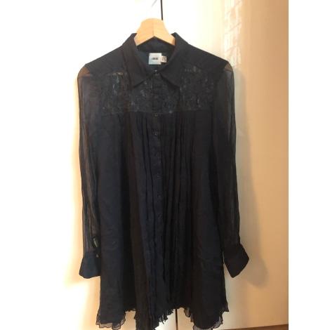 Robe mi-longue ASOS Noir