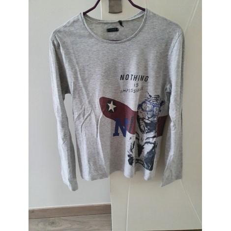 Tee-shirt IKKS Gris, anthracite