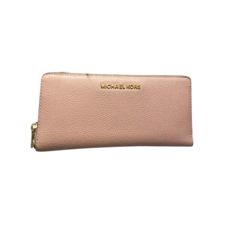 Wallet MICHAEL KORS Jet Set Pink, fuchsia, light pink