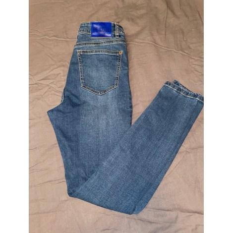 Jeans slim JENNYFER Bleu, bleu marine, bleu turquoise
