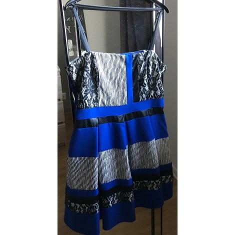 Robe mi-longue RINASCIMENTO Bleu, bleu marine, bleu turquoise
