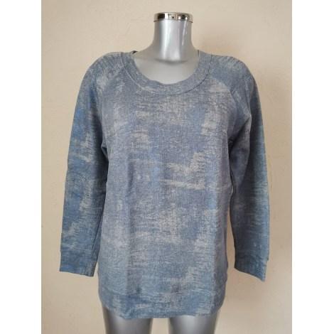 Sweat SANDRO Bleu, bleu marine, bleu turquoise