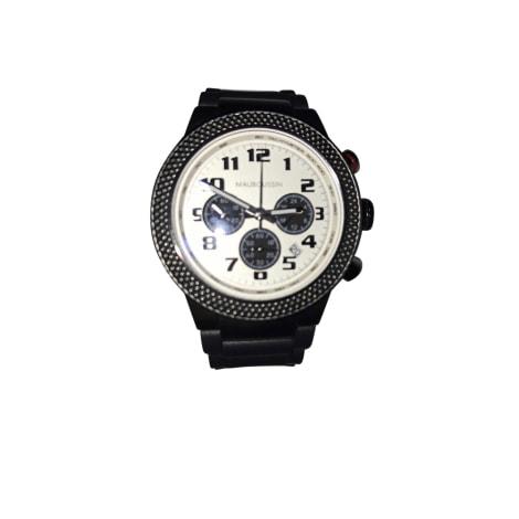 Wrist Watch MAUBOUSSIN Black