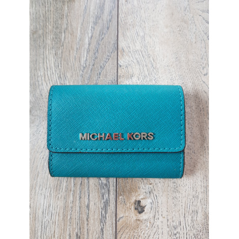 Coin Purse MICHAEL KORS Blue, navy, turquoise