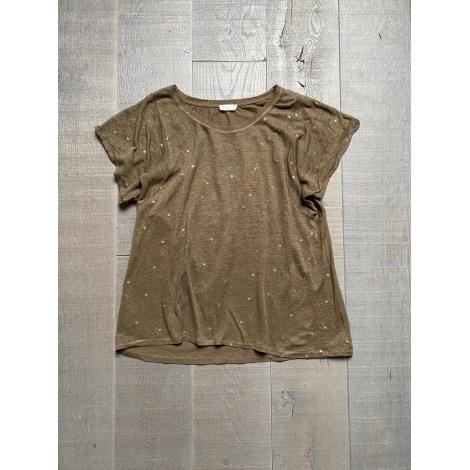 Top, tee-shirt YERSE Kaki