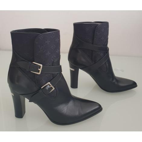Bottines & low boots à talons LOUIS VUITTON Noir