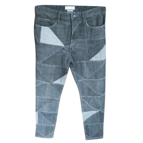 Jeans droit ISABEL MARANT Noir