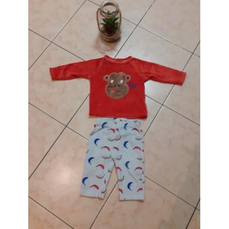 Pyjama GÉMO Red, burgundy