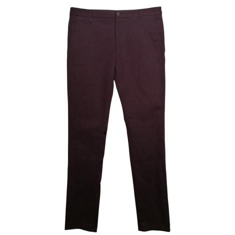 Pantalon slim HUGO BOSS Violet, mauve, lavande